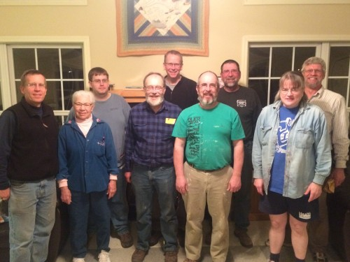 Feb. 2016 Work Team: Lee Martin returned to Pine Lake with a service team from his church in Harrisonburg, VA.
