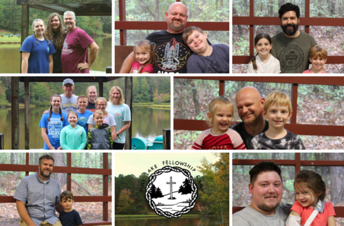 7 dads brought their family and/or extended family to Dads & Kids Weekend.